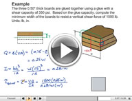 Play Mechanics of Materials Shear Video