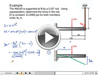 Play Mechanics of Materials Deflection of Beams Video